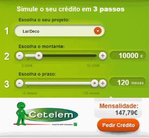 Simulador Cetelem